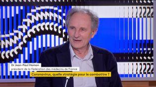 """Jean-Paul Hamon, (président de la Fédération des médecins de France) : """"Il n'y a pas de panique !"""" (FRANCEINFO)"""