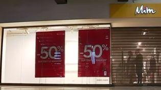 Hier, mercredi 26 avril, le tribunal de commerce de Bobigny (Seine-Saint-Denis) a décidé la liquidation et l'arrêt d'activité quasi immédiat de l'enseigne de vêtements Mim. Près de 800 emplois vont être supprimés.  (France 3)