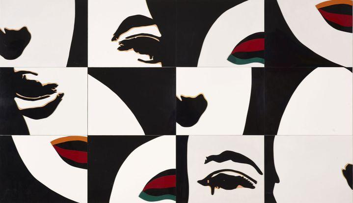 "Martial Raysse, ""Life is so complex"", 1966, Musée de Grenoble, Grenoble  (Adagp, Paris 2014)"