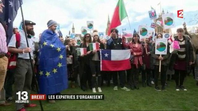 Brexit : l'incertitude des expatriés européens