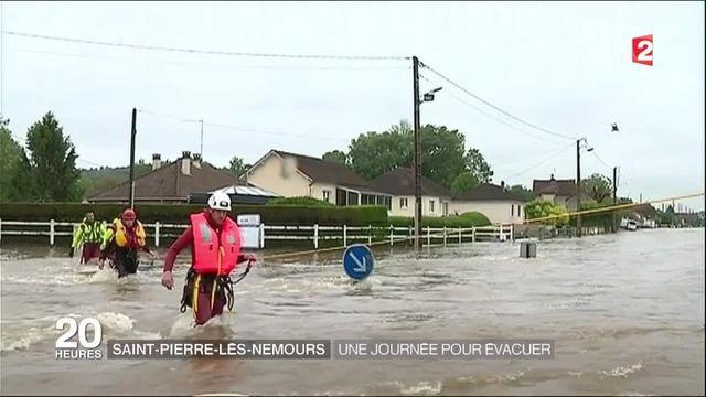 Inondations : la ville de Saint-Pierre-lès-Nemours évacuée à son tour