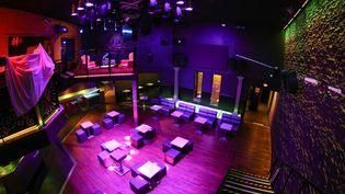 Ici le 20 novembre 2020, La Suite, à Rennes (Ille-et-Vilaine), fera partie des nombreuses discothèques françaises à garder leurs portes closes le 9 juillet 2021. (MAXPPP)
