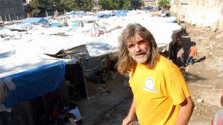 Le père Michel Briant a été enlevé avec une religieuse, elle aussi de nationalité française, en même temps que huit autres personnes sur l'île d'Haïti, le dimanche 11 avril 2021. (DIDIER DENIEL / MAXPPP)