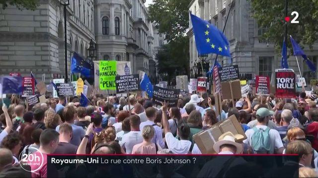 Brexit : la rue manifeste contre Boris Johnson à Londres