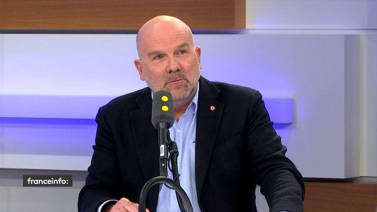 Le député LREM Bruno Bonnell, invité de franceinfo. (FRANCEINFO / RADIOFRANCE)
