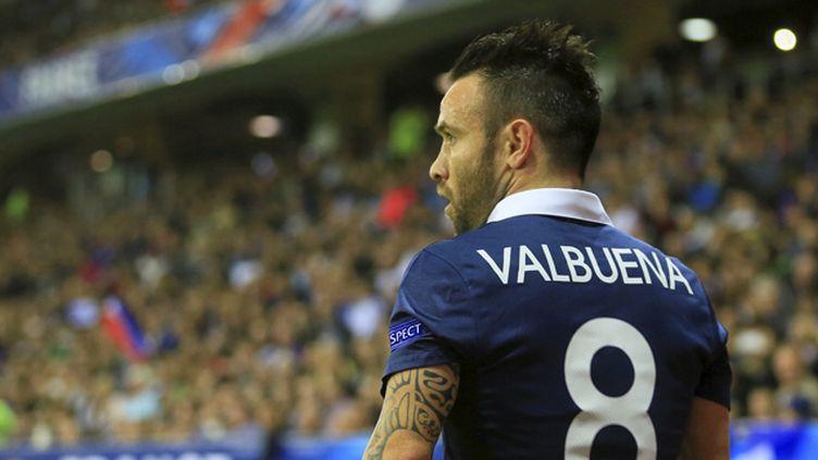(Mathieu Valbuena, lors de la rencontre France-Arménie, le 9 octobre dernier à Nice © MaxPPP)