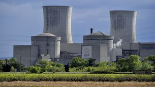 La centrale nucléaire du Tricastin, dans la Drôme, le 1er novembre 2017. (TRIPELON-JARRY / ONLY FRANCE / AFP)
