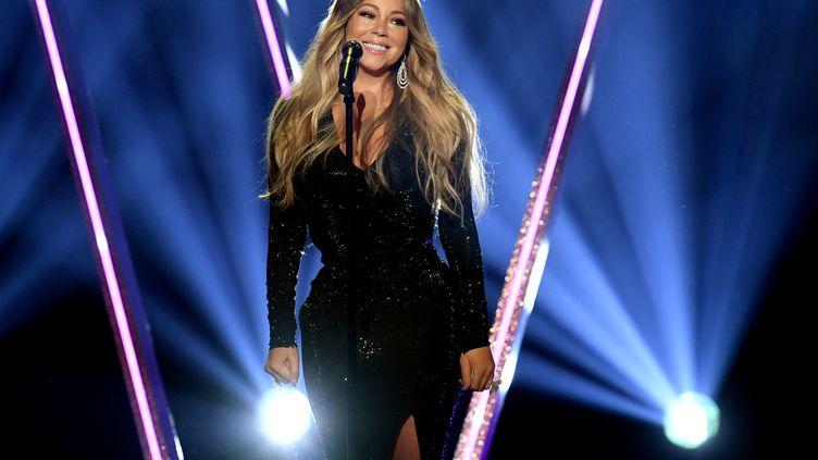 Mariah Carey se produit le 1er mai 2019 à Las Vegas (Nevada). (KEVIN WINTER / GETTY IMAGES NORTH AMERICA / AFP)