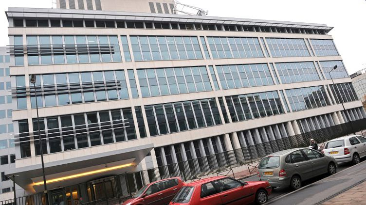 Les locaux de l'ex-Direction centrale du renseignement intérieur (DCRI), le 15 novembre 2008 à Levallois-Perret (Hauts-de-Seine). (LIONEL BONAVENTURE / AFP)