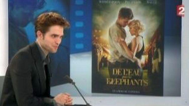 """Robert Pattinson à l'affiche de """"De l'eau pour les éléphants""""  (Culturebox)"""