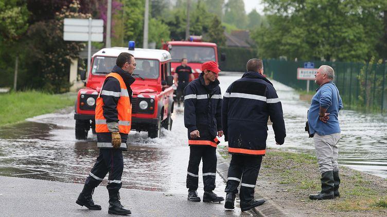 Dans le village de Buchères, près de Troyes (Aube), le 7 mai 2013. (FRANCOIS NASCIMBENI / AFP)