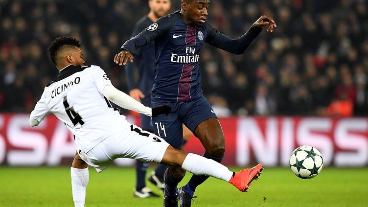 Blaise Matuidi et le PSG n'ont pas brillé (FRANCK FIFE / AFP)