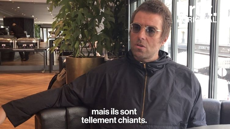 """VIDEO. """"Dans le milieu de la musique, ils sont tous hyper chiants"""" : quand Liam Gallagher se lâche (BRUT)"""