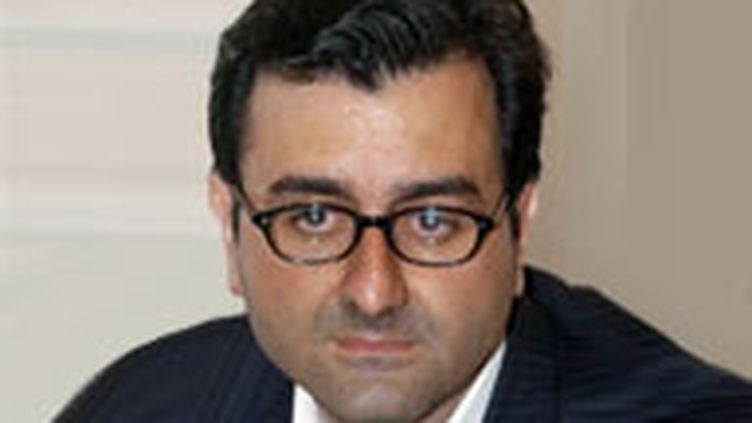 L'informaticien Imad Lahoud. (AFP/Jean Ayissi)