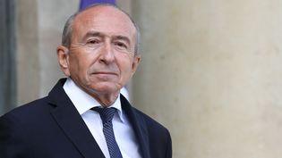 Garard Collomb, le 19 septembre 2018, à Paris. (LUDOVIC MARIN / AFP)