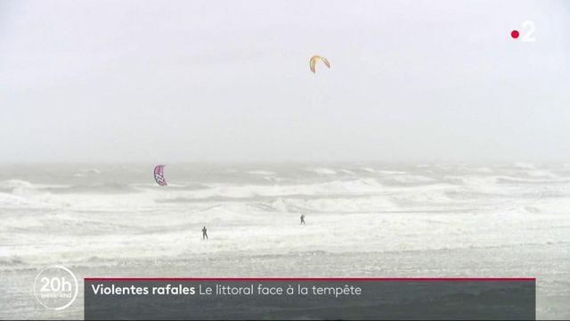 Tempête Ciara : le littoral se prépare au risque de vague-submersion