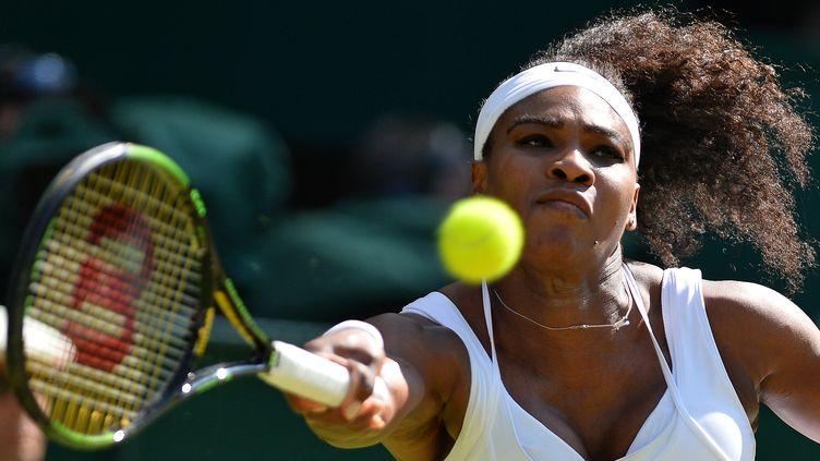 Toute la rage de Serena Williams  (GLYN KIRK / AFP)