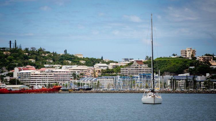 La ville de Nouméa, en Nouvelle-Calédonie, le 11 février 2021. (DELPHINE MAYEUR / HANS LUCAS / AFP)