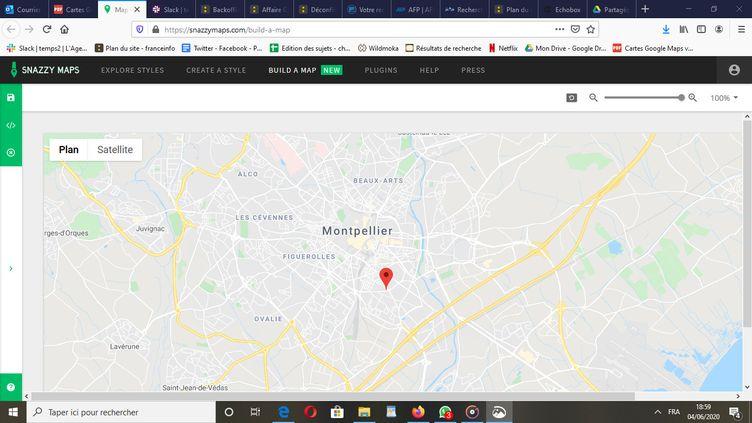 Avenue Albert-Dubout à Montpellier (Hérault). (GOOGLE MAPS)