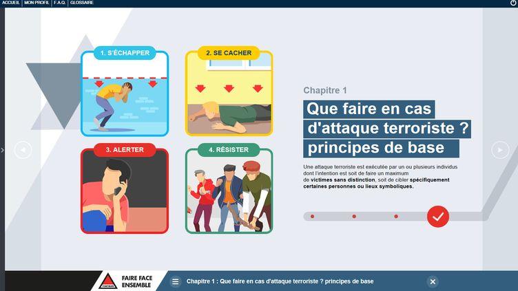 Visuel du site www.vigipirate.gouv.fr (VIGIPIRATE.GOUV.FR)