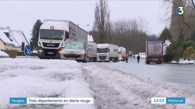 Vague de froid : prudence extrême sur les routes verglacées