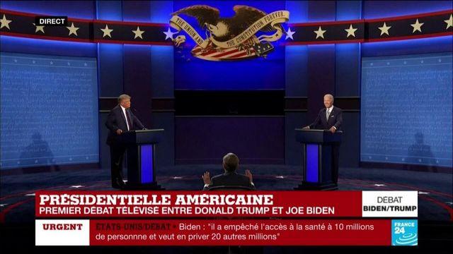 """Joe Biden à Donald Trump : """"Vous allez la fermer ?"""""""