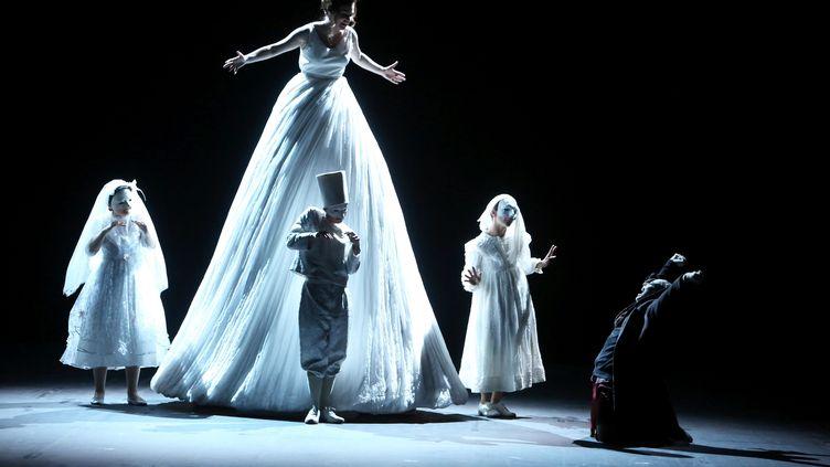 """""""Pinocchio"""" au 69e festival International d'art lyrique d'Aix-en-provence. Composé par Philippe Boesmans et mis en scène par Joël Pommerat (MERCIER SERGE / MAXPPP)"""