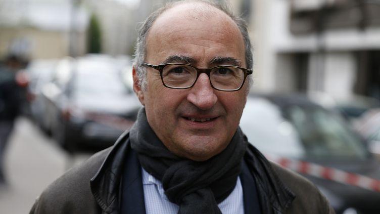 Eric Halphen, ancien juge et candidat LREM, à Paris, le 13 mai 2017. (CHARLY TRIBALLEAU / AFP)