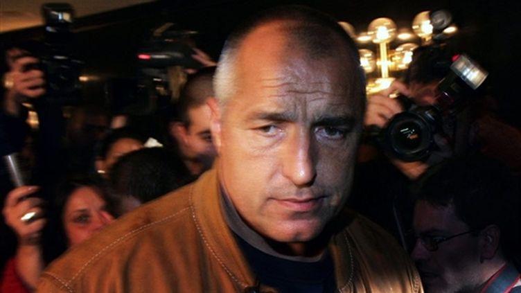 Boïko Borissov (© AFP / Boryana Katsarova - 28/10/2007)