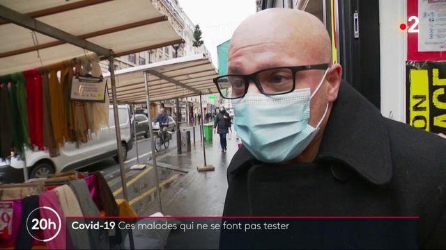 Covid-19 : de nombreux Français avec des symptômes ne procèdent pas au dépistage