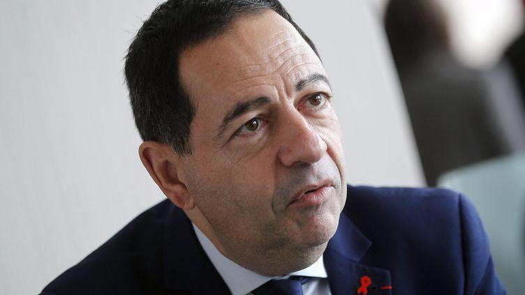 Jean-Luc Romero, conseiller régional d'Île-de-France et ambassadeur d'Île-de-France sans sida, le 10 décembre 2016 à Monaco. (CYRIL DODERGNY / MAXPPP)
