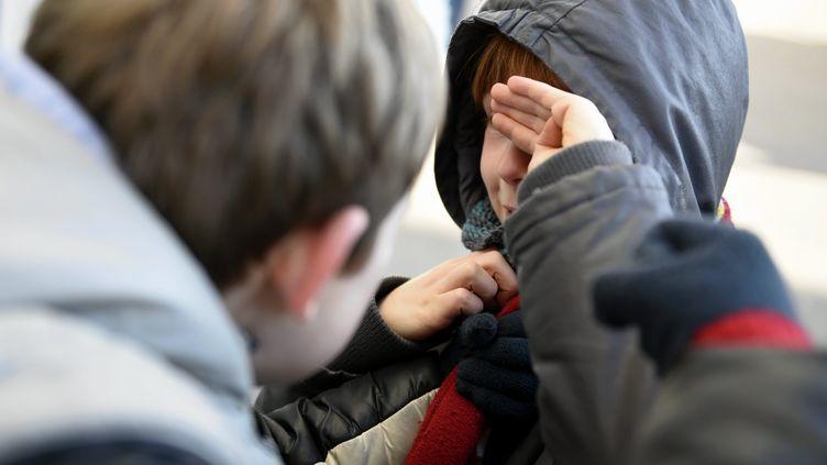 Illustration de harcèlement entre enfants. (MAXPPP)