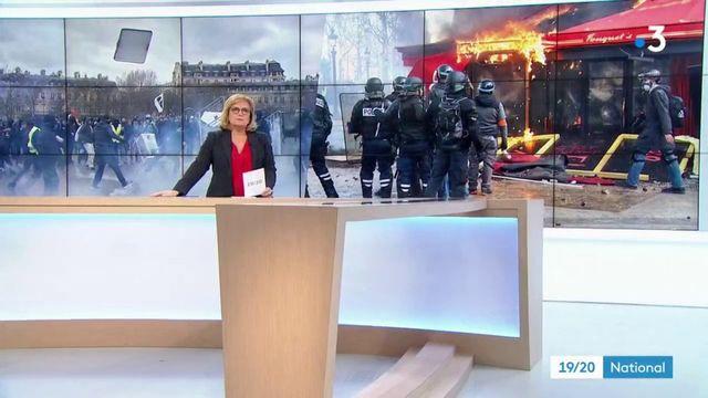 Gilets jaunes : un samedi de violence à Paris