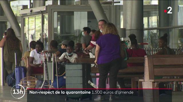 Covid-19 : les voyageurs soumis à une quarantaine obligatoire risquent 1 500 euros d'amende en cas de non-respect