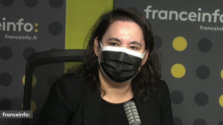 """Cécile Amar, auteure du documentaire """"10 mai 81, changer la vie"""" (FRANCEINFO / RADIO FRANCE)"""