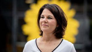 Annalena Baerbock, candidate des Verts pour la chancellerie, le 10 juin 2021. (KAY NIETFELD / DPA)