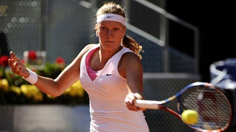 La Russe Petra Kvitova en action