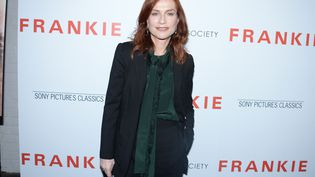 Isabelle Huppert, le 14 octobre 2019; à New York. (PAUL BRUINOOGE / PATRICK MCMULLAN / GETTY IMAGES)