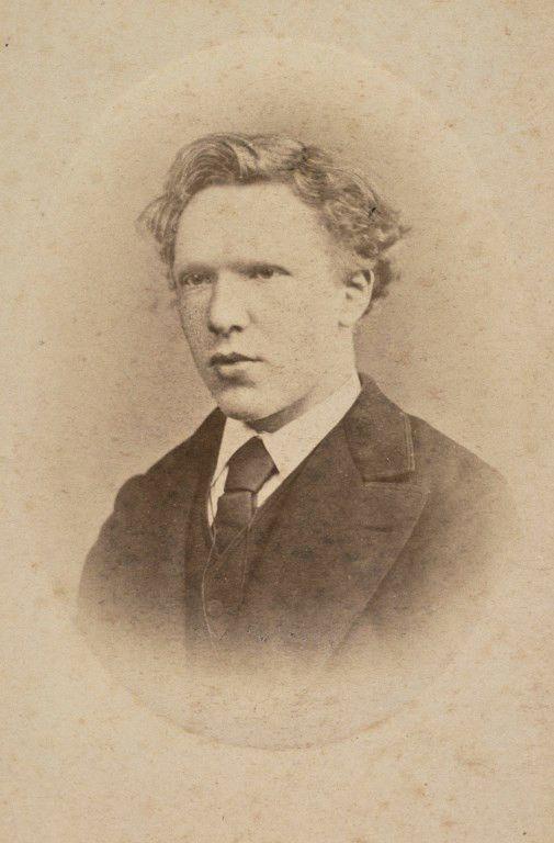 Vincent Van Gogh à 19 ans  (HO / VAN GOGH MUSEUM AMSTERDAM / AFP)