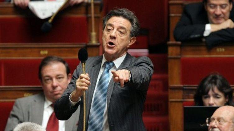 Yves Cochet avant qu'il ne quitte l'Assemblée nationale pour rejoindre le Parlement européen. (AFP - Pierre Verdy)