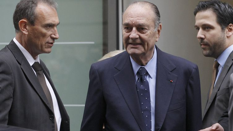 Jacques Chirac au musée du Quai Branly (Paris), le 24 novembre 2011. (PATRICK KOVARIK / AFP)
