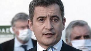 Gérald Darmanin a annoncé des renforts de police en Essonne après deux rixes successives entre bandes de jeunes qui ont fait deux morts. (IROZ GAIZKA / AFP)