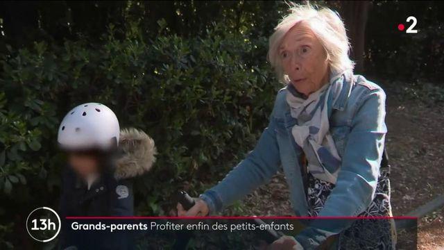 Vacances : quand les grands-parents retrouvent enfin leurs petits enfants