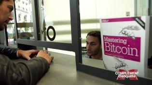 """""""Complément d'enquête"""" à la Maison du bitcoin (FRANCE 2 / FRANCETV INFO)"""
