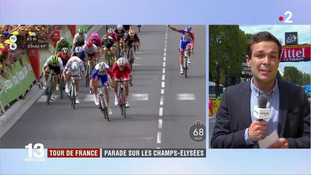 Tour de France : une dernière étape disputée