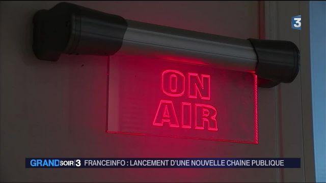 Franceinfo : lancement d'une nouvelle chaîne publique