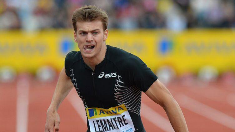 Christophe Lemaître a signé une grosse performance sur 100m.  (BEN STANSALL / AFP)
