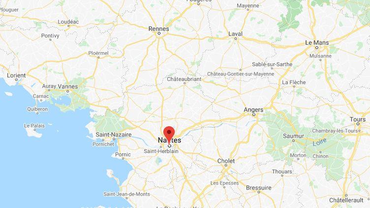 Nantes (Loire-Atlantique). (GOOGLE MAPS)