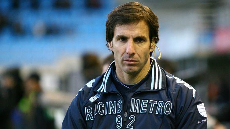 Gonzalo Quesada, entraîneur du Racing Métro 92 (JESSICA GUITER CODIGNOLA / MAXPPP)