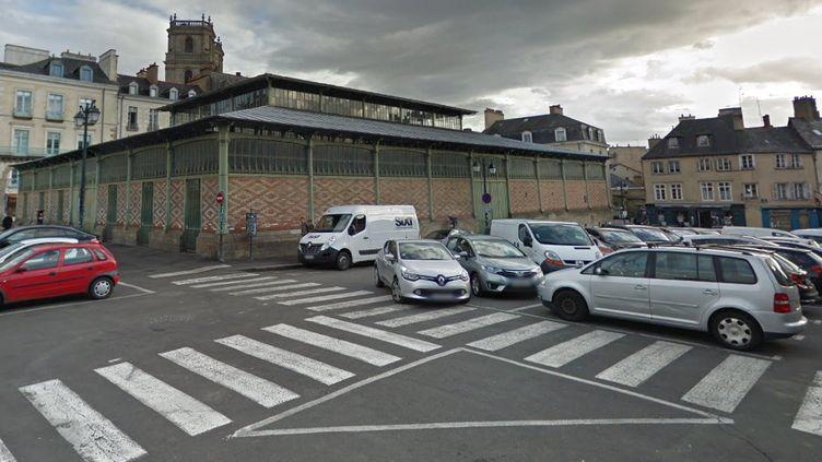 La Halle Martenot, dans le secteur de la place des Lices, à Rennes (Ille-et-Vilaine). (CAPTURE ECRAN GOOGLE STREET VIEW)